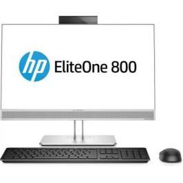 "Моноблок 23.8"" HP EliteOne 800 G3 AiONT 1920 x 1080 Intel Core i5-7500 8Gb SSD 256 Intel HD Graphics 630 Windows 10 Professional серебристый черный 1KA77EA"