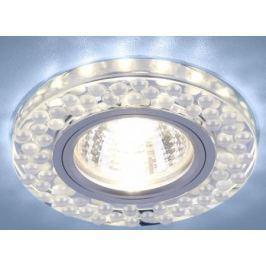 Встраиваемый светильник Elektrostandard 2194 MR16 SL/WH зеркальный/белый 4690389099298