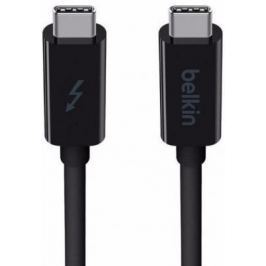 Кабель Thunderbolt 3 Belkin черный 1.0м F2CD081bt1M-BLK