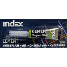 Клей моментальный Index Cement 3 гр. ISG0103