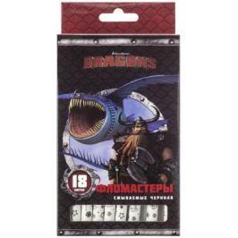 Набор фломастеров Action! Dragons 18 шт разноцветный DR-AWP206-18 в ассортименте