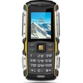 Телефон Texet TM-512R черный жёлтый