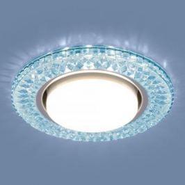 Встраиваемый светильник Elektrostandard 3021 GX53 BL лазурный 4690389100000