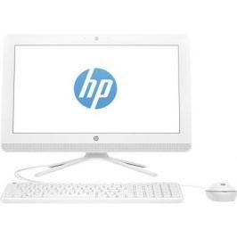 "Моноблок 19.5"" HP 20-c038ur 1600 x 900 Intel Celeron-J3060 4Gb 500 Gb Intel HD Graphics 400 4096 Мб Windows 10 белый 1EE38EA"