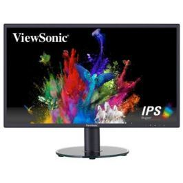 "Viewsonic 23.8"" VA2419SH IPS LED, 1920x1080, 5ms, 250cd/m2, 178°/178°, 50Mln:1, D-Sub, HDMI, Headphone Out, Tilt, VESA, Glossy Black"