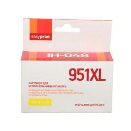 Картридж EasyPrint CN048AE для HP Officejet Pro 8100/8600/251dw/276dw желтый IH-048