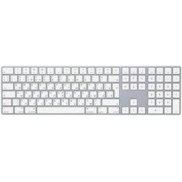 Клавиатура беспроводная Apple Magic Keyboard с цифровой панелью Bluetooth белый MQ052RS/A