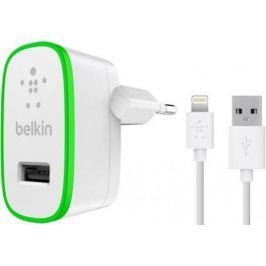 Сетевое зарядное устройство Belkin F8J125vf04-WHT 8-pin Lightning 2.4А белый