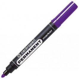 Маркер перманентный Centropen 8566/Ф 2.5 мм фиолетовый