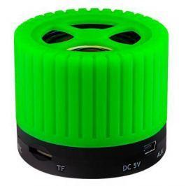 Портативная акустика Ginzzu GM-988G зеленый/черный