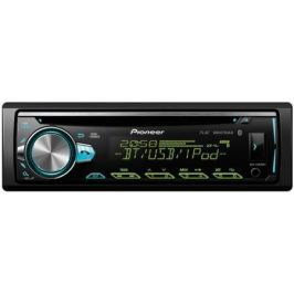 Автомагнитола Pioneer DEH-S5000BT USB MP3 CD FM 1DIN 4x50Вт черный