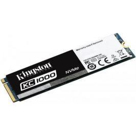 Твердотельный накопитель SSD M.2 960 Gb Kingston KC1000 Read 2700Mb/s Write 1600Mb/s PCI-E SKC1000/960G