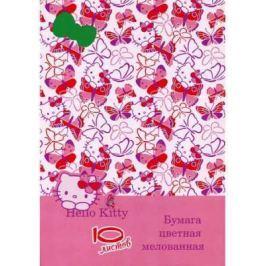 Цветная бумага Action! Hello Kitty A4 10 листов HKO-ACCP-10/10-2 в ассортименте