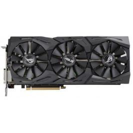 Видеокарта 8192Mb ASUS RX580 PCI-E DVI HDMI DP HDCP ROG-STRIX-RX580-T8G-GAMING Retail