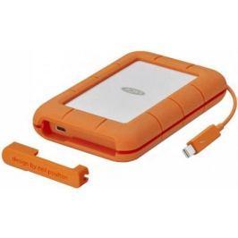 "Внешний жесткий диск 2.5"" Thunderbolt 1Tb Lacie Rugged STFS1000401 оранжевый"