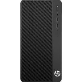 Системный блок HP 290 G1 MT i3-7100 3.9GHz 4Gb 500Gb HD630 DVD-RW DOS черный 1QN72EA