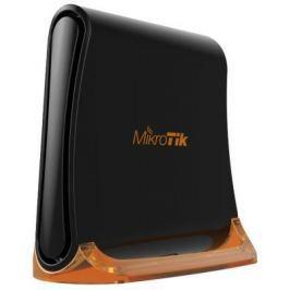 Беспроводной маршрутизатор MikroTik hAP Mini 802.11bgn 300Mbps 2.4 ГГц 2xLAN черный RB931-2nD