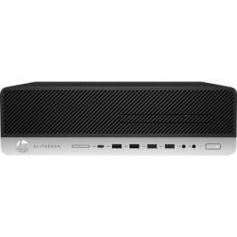 Системный блок HP EliteDesk 800 G3 SFF i7-7700 3.6GHz 4Gb 500Gb HD630 DVD-RW Win10Pro серебристо-черный Z4D07EA