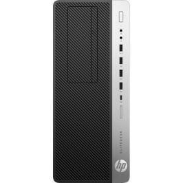 Системный блок HP EliteDesk 800 G3 TWR i5-6500 3.2GHz 4Gb 500Gb HD530 DVD-RW Win7Pro Win10Pro серебристо-черный 1HK68EA