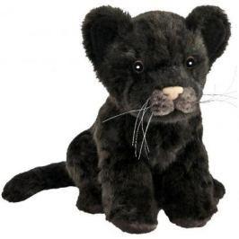 """Мягкая игрушка Hansa """"Детеныш ягуара"""" искусственный мех черный 17 см 7289"""