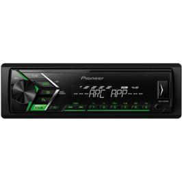 Автомагнитола Pioneer MVH-S100UBG USB MP3 FM RDS 1DIN 4x50Вт черный