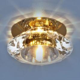 Встраиваемый светильник Elektrostandard 8016 G4 GD/CL золото/прозрачный 4690389009310