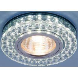Встраиваемый светильник Elektrostandard 8381 MR16 CL/SBK прозрачный/дымчатый 4690389098321