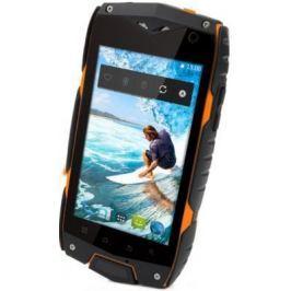 Смартфон Texet TM-4084 оранжевый черный