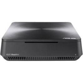 Неттоп ASUS VM45-G019Z Intel Celeron-3865U 2Gb 500Gb Intel HD Graphics 610 Windows 10 серый 90MS0131-M00190