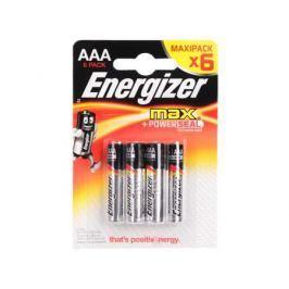 Батарейки Energizer Max AAA 6 шт E300131703/E300131702