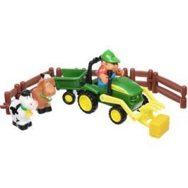 Трактор-погрузчик Tomy «Моя первая ферма» Набор с погрузчиком 43068 разноцветный