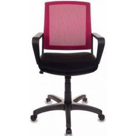 Кресло Бюрократ CH-498/CH/TW-11 спинка сетка бордовый сиденье черный