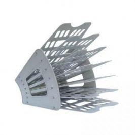 Лоток для бумаг, вертикально-горизонтальный, семисекционный, серый Лт-40