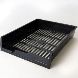 Лоток для бумаг горизонтальный ЛИДЕР, чёрный IT805Bk