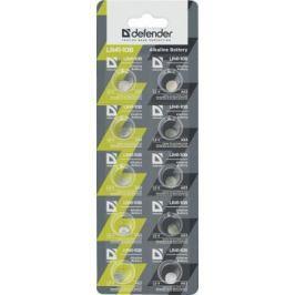 Батарейки Defender LR41-10B LR41 10 шт 56302