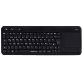Клавиатура беспроводная HAMA R1173091 USB черный