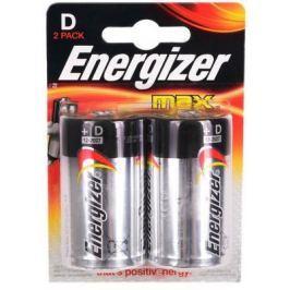 Батарейки Energizer Max D 2 шт E300129200/E301003900
