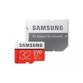Карта памяти Micro SDHC 32Gb Class 10 Samsung MB-MC32GA/RU + SD adapter