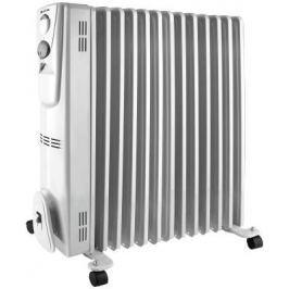 Масляный радиатор Vitek VT-2129 W 2500 Вт ручка для переноски термостат белый