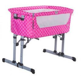Кроватка-колыбель Zibos ALA (quadra pink)