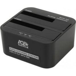 """Док станция для HDD 2.5""""/3.5"""" SATA AgeStar 3UBT6-6G USB3.0 черный"""