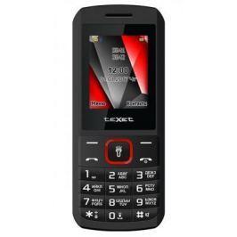 Мобильный телефон Texet 127-TM черный красный