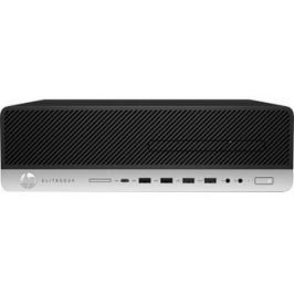 Системный блок HP EliteDesk 800 G3 i5-6500 3.2GHz 4Gb 500Gb HD530 DVD-RW Win7Pro Win10Pro серебристо-черный 1HK70EA