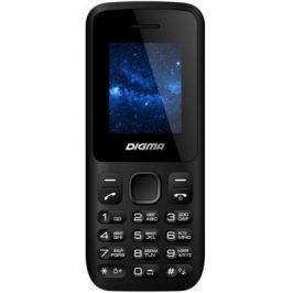 Мобильный телефон Digma A101 2G Linx черный