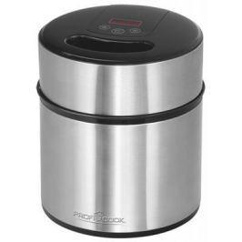 Мороженница ProfiCook PC-ICM 1140 серебристый чёрный
