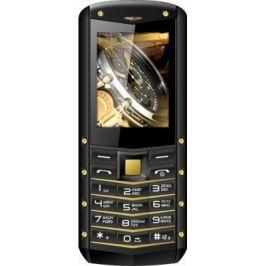 Мобильный телефон Texet TM-520R черный жёлтый
