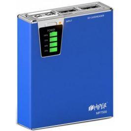 Портативное зарядное устройство HIPER MP7500 7500мАч синий