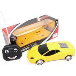 Машинка на радиоуправлении Shantou Gepai Power Car, 4 канала пластик от 3 лет желтый W-830