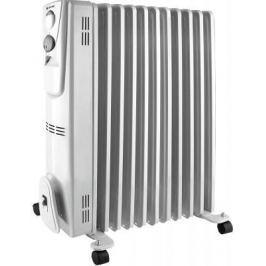 Масляный радиатор Vitek VT-2128(W) 2300 Вт термостат ручка для переноски колеса для перемещения белый
