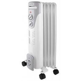 Масляный радиатор Vitek VT-1707(W) 1000 Вт термостат ручка для переноски колеса для перемещения белый